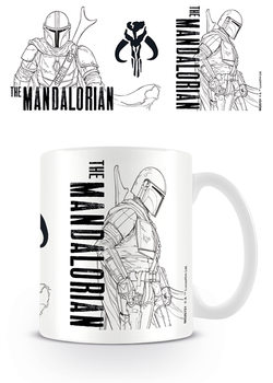 Star Wars: The Mandalorian - Line Art Mug
