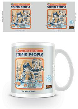Steven Rhodes - Let's Find A Cure For Stupid People Mug