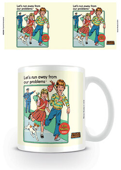 Steven Rhodes - Run Away From Our Problems Mug