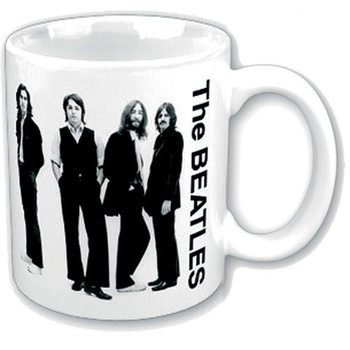 The Beatles - Black & White Group Mug