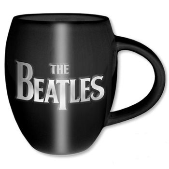 The Beatles – Drop T & Apple Oval Embossed Mug