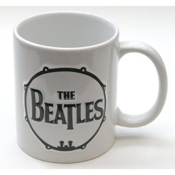 The Beatles - Drum & Apple Records Sculptured Mug