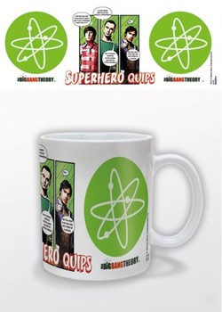 The Big Bang Theory - Superhero Quips Mug