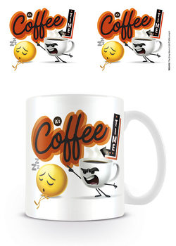 The Emoji Movie - It's Coffee Time Mug