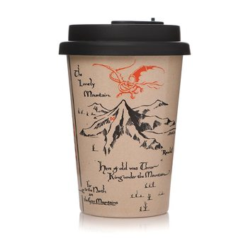 Eco mug The Hobbit - Map