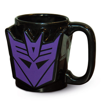 Transformers G1 - Decepticon Shield Mug