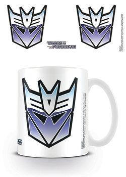 Transformers G1 - Decepticon Symbol Mug