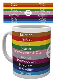 Transport For London - Lines Mug