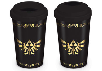 TRAVEL Mug - The Legend Of Zelda - Triforce Mug