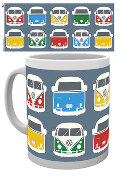 VW Camper - Campers Colours Illustration Mug