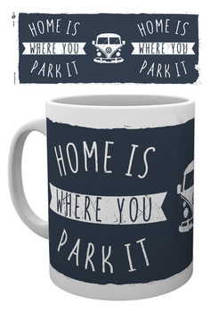 VW Camper - Home Mug