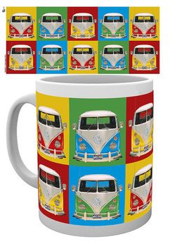 VW Volkswagen Camper - Campers colours p. Mug