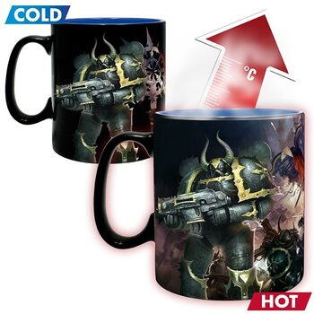 Cup Warhammer 40 K - Ultramarine & Black Legion