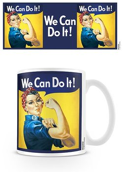 We Can Do It! - Rosie The Riveter Mug
