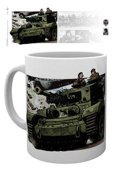 World Of Tanks - Comics Mug