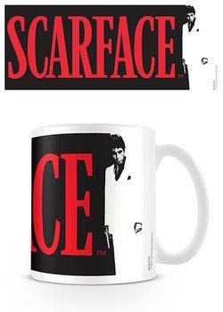 Zjizvená tvář - Logo Mug