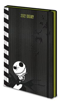 Diary 2021 - Painajainen ennen joulua (EN) Muistiinpanovälineet