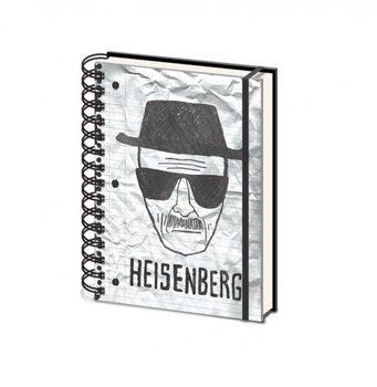 Breaking Bad - Heisenberg A5 Muistiinpanovälineet