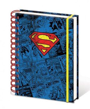 Dc Comics A5 Notebook - Superman  Muistiinpanovälineet