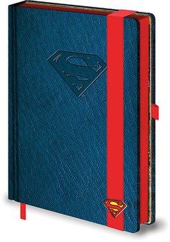 DC Comics A5 notebook - Teräsmies Logo Muistiinpanovälineet