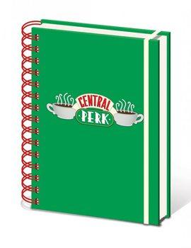 Frendit  - Central Perk A5 notebook  Muistiinpanovälineet
