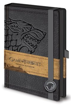Game of Thrones - Stark Premium A5 Notebook Muistiinpanovälineet