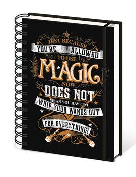 Harry Potter - Magic Muistiinpanovälineet