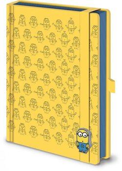 Itse ilkimys (Despicable Me) - Pattern A5 Premium Notebook Muistiinpanovälineet