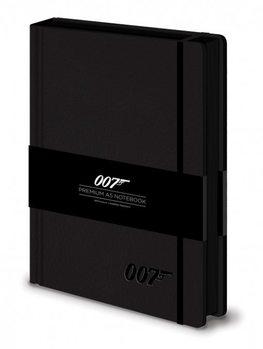 James bond - 007 Logo  Premium A5 Notebook  Muistiinpanovälineet
