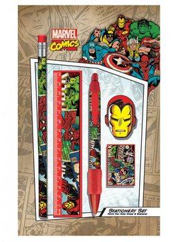 Marvel Retro - Montage stationery set Muistiinpanovälineet