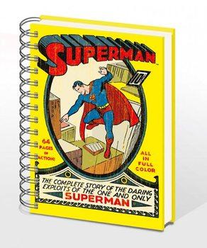 SUPERMAN NO.1 – notebook A4  Muistiinpanovälineet