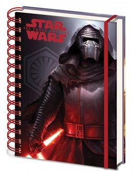 Tähtien sota: Episodi VII – The Force Awakens - Dark A5 Notebook Muistiinpanovälineet
