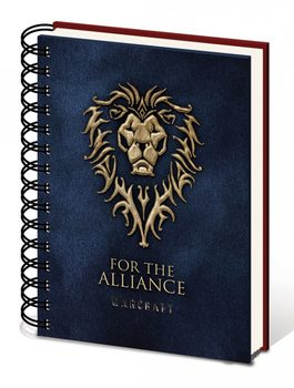 Warcraft: The Beginning - Choose a side A5 notebook Muistiinpanovälineet