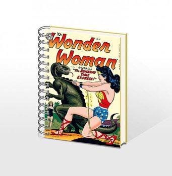 WONDERWOMAN - notebook A5 Muistiinpanovälineet