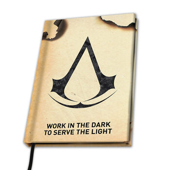Muistikirjat Assassin's Creed - Crest