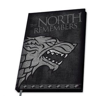 Muistikirjat Game Of Thrones - Stark