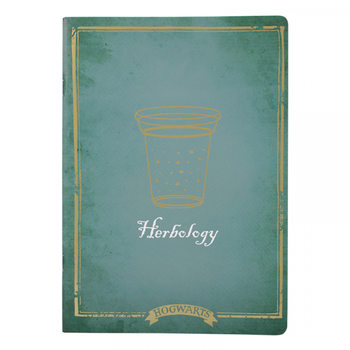 Muistikirjat Harry Potter - Herbology A4