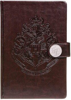 Muistikirjat Harry Potter - Hogwarts Crest / Clasp Premium