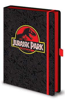 Muistikirjat Jurassic Park - Classic Logo Premium