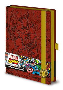 Muistikirjat Marvel - Iron Man A5 Premium