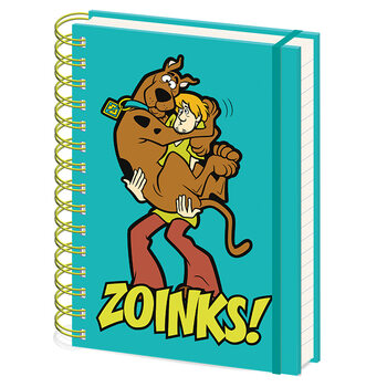Muistikirjat Scooby Doo - Zoinks