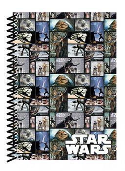 Muistikirjat Star Wars - Blocks A5 Soft Cover