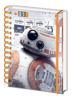 Muistikirjat Star Wars: The Last Jedi- BB-8
