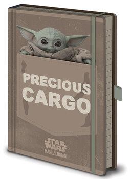 Muistikirjat Star Wars: The Mandalorian - Precious Cargo