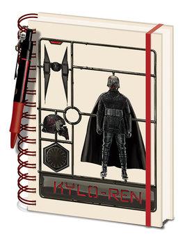 Muistikirjat Star Wars: The Rise of Skywalker - Airfix Kylo