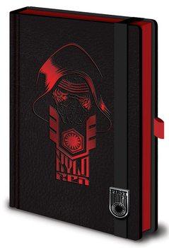 Muistikirjat Tähtien sota: Episodi VII – The Force Awakens - Kylo Ren Premium A5