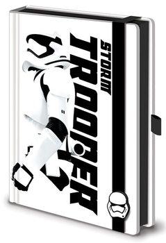 Muistikirjat Tähtien sota: Episodi VII – The Force Awakens - Stormtrooper Premium A5