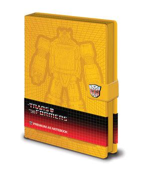 Muistikirjat Transformers G1 - Bumblebee