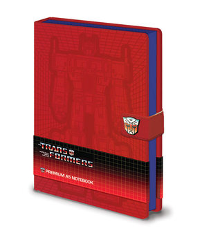 Muistikirjat Transformers G1 - Optimus Prime
