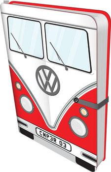 Muistikirjat Volkswagen - Red Camper